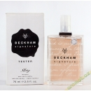 David Beckham Signature Story edt 75 lady tester