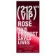 Carolina Herrera 212 VIP Rose Red 80m edp  limited edition